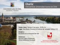 Charla: intercambios Universidad Austral de Chile